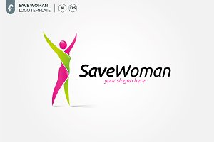 Save Woman Logo