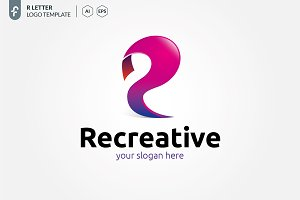 R Creative Logo