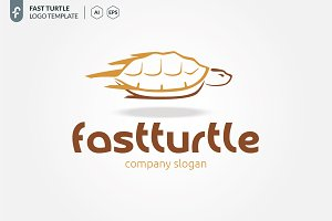 Fast turtle Logo