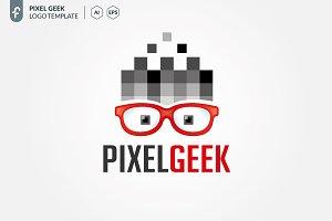 Pixel Geek Logo