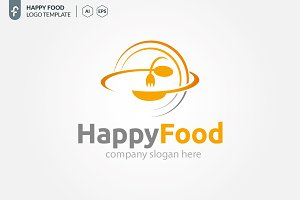 Happy Food Logo