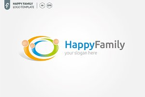 Happy Family Logo