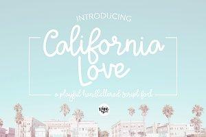 California Love Script Font