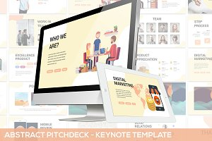 Abstract Pitchdeck-Keynote Template