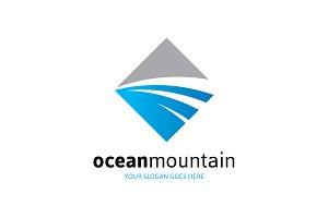 Ocean Mountain Logo