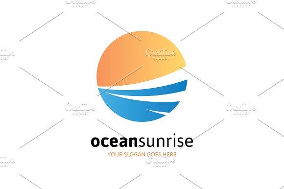 Ocean Sunrise Logo