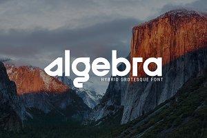 Algebra - Hybrid Grotesque Font