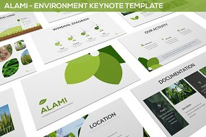 Alami - Environment Keynote Template