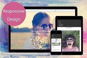BeautySpot Responsive html5 template