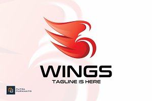 Wings / Bird - Logo Template