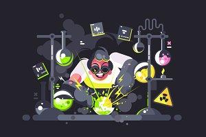 Scientist chemist