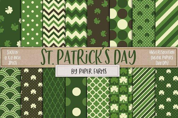 St Paddy's Digital Paper
