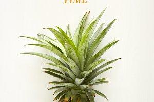 Summer concept Pineapple