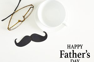 Happy Father's Day inscription