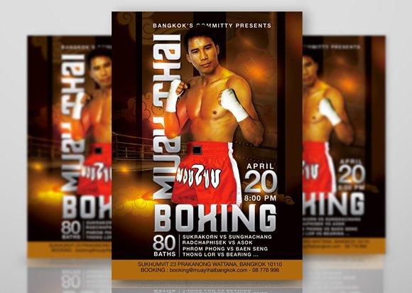Muay Thai Boxing Meeting Bangkok