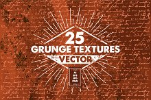 25 SUPERHARDCORE grunge texture PACK