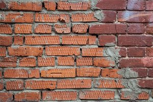 Brick background for creativity