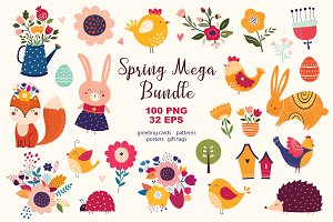 Spring Mega Bundle