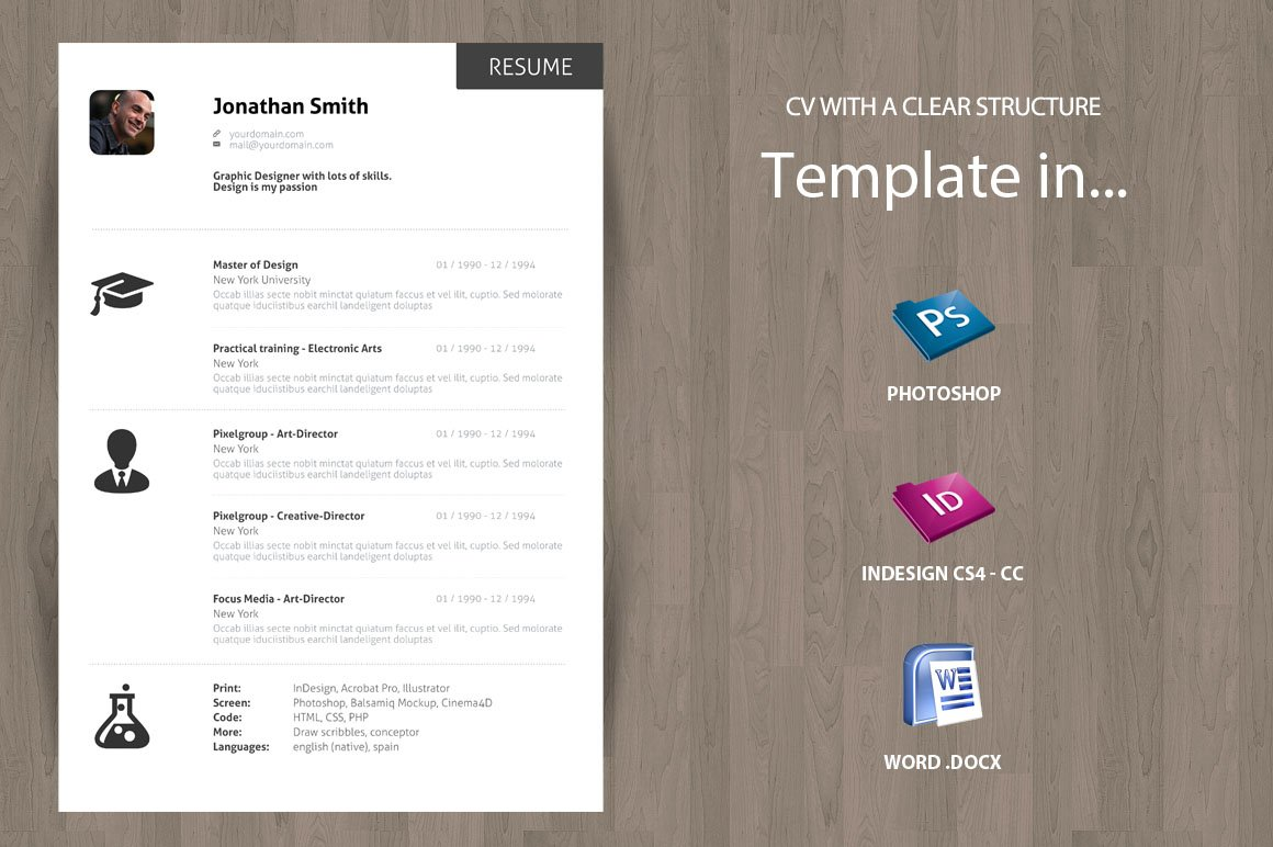 10 professional resume templates to help you land that new job minimal curriculum vitae cv resume
