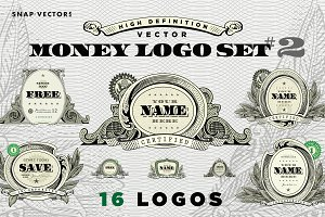 Vector Money Logo Set #2