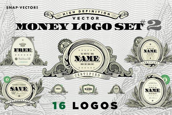 Vector Money Logo Set #2
