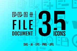 Document /File : 35 icons