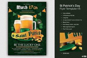Saint Patricks Day Flyer Template V5