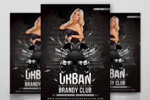 Party Flyer Urban Style