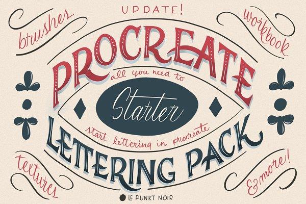 Procreate Lettering Starter Pack