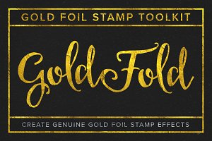 Gold Fold - Gold Foil Stamp Toolkit