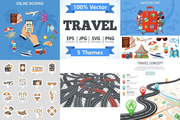 Vacation And Travel Themes