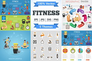 Fitness and Gym Themes