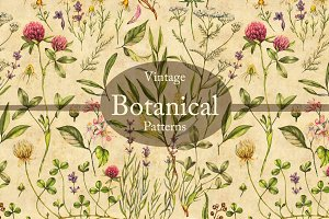 Vintage Botanical Patterns