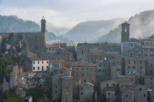 Italian ancient town Sorano