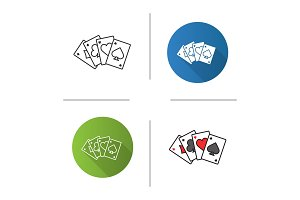 Four aces icon