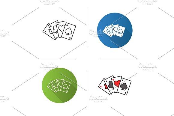 Four Aces Icon