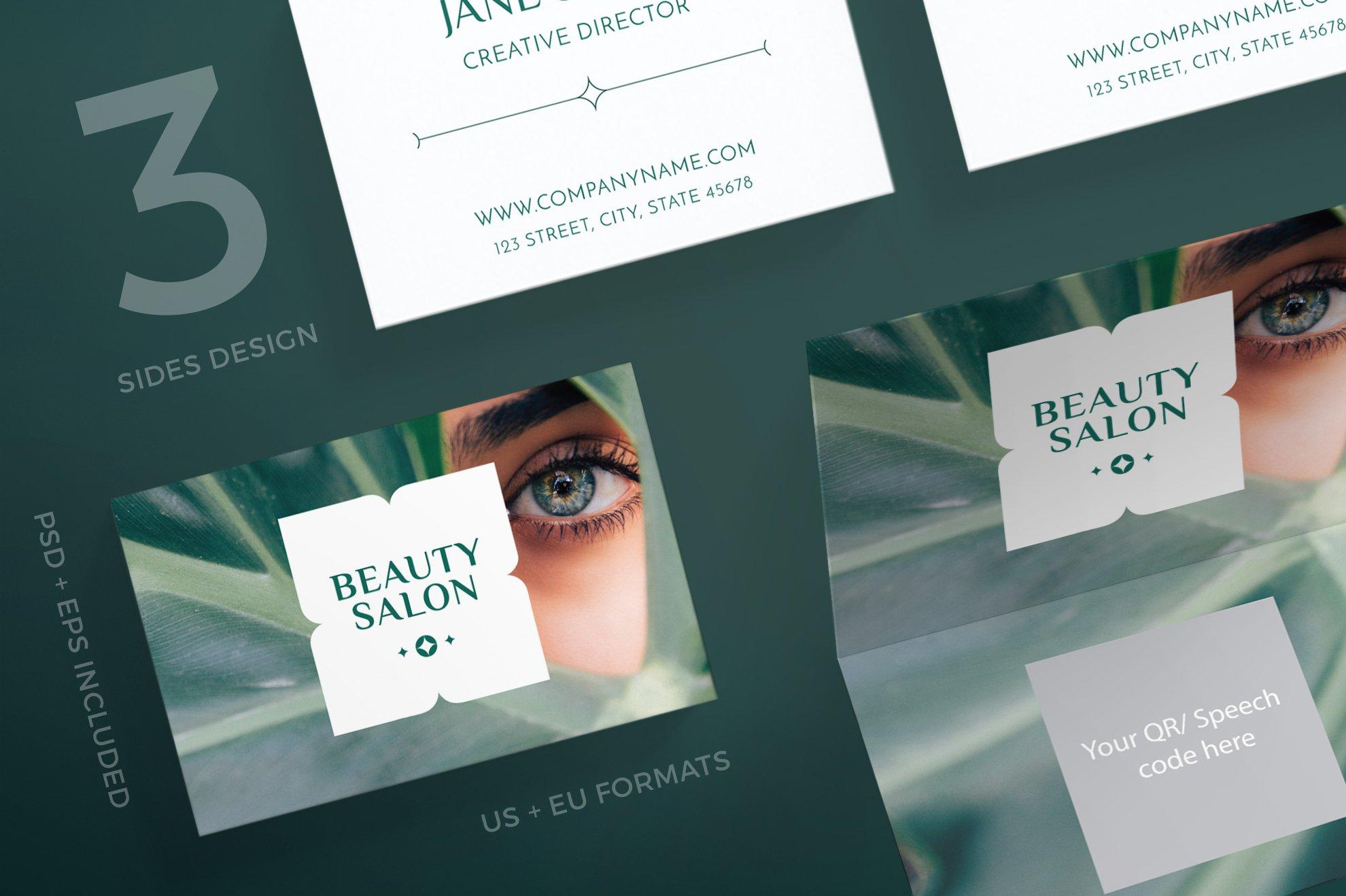 Business Cards | Beauty Salon ~ Business Card Templates ~ Creative ...