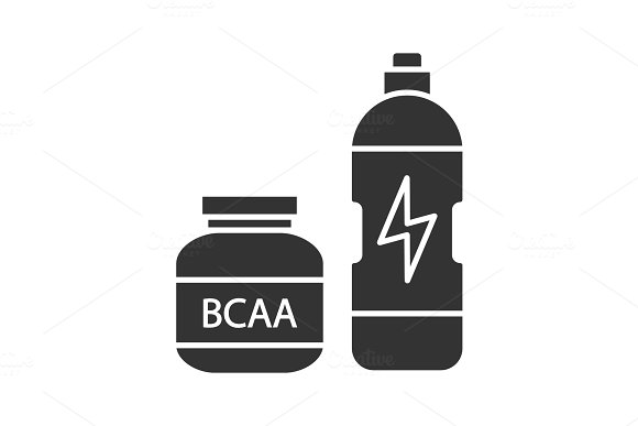 BCAA Supplement Glyph Icon