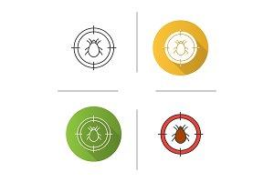 Mite target icon
