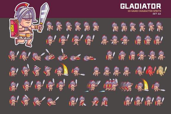 GLADIATOR GAME SPRITE