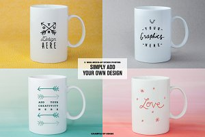 [-50%] Coffee Mugs Stock Photos