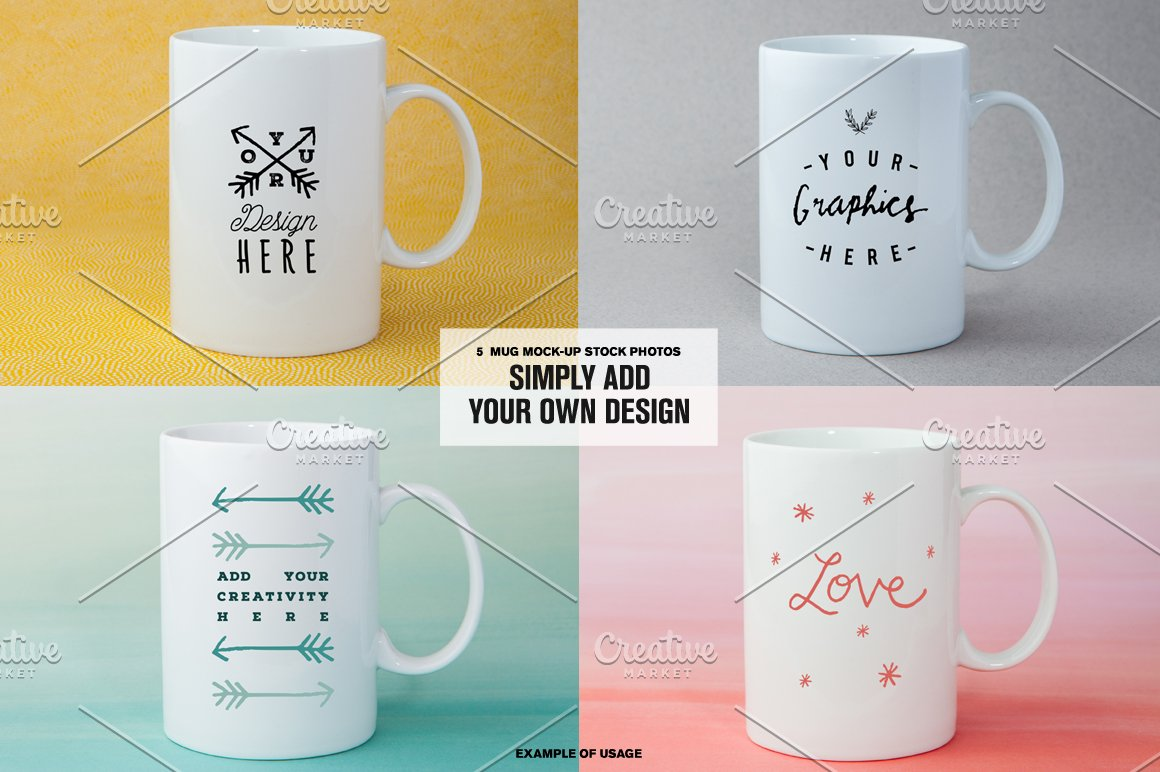 [-50%] Coffee Mugs Stock Photos - Product Mockups