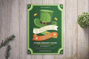 St. Patrick's Day Carnival Flyer