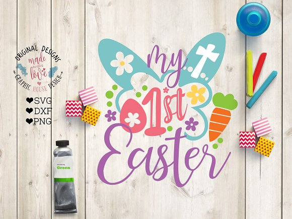My First Easter Cut File