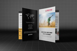 Bifold Template Business Brochure