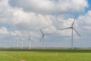 Alternative energy, wind turbine