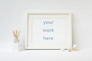 Nursery Frame Mockup - wfr066