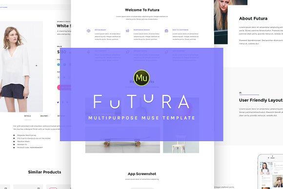 Futura Responsive Muse Theme