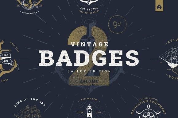 Vintage Badges Vol 2