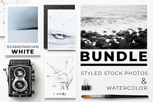 -50% SCANDINAVIAN WHITE BUNDLE